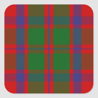 Clan MacKintosh Tartan Sticker