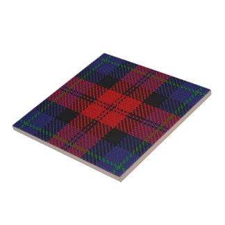 Clan MacLachlan Scottish Expressions Red Tartan Ceramic Tile