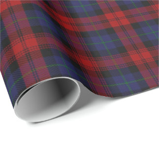 Clan MacLachlan Scottish Tartan Wrapping Paper