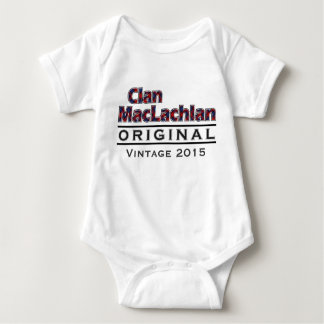 Clan MacLachlan Vintage Customize Your Birthyear Baby Bodysuit