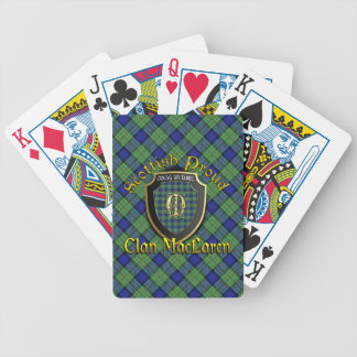 Clan MacLaren Scottish Proud Bicycle Brand Bicycle Playing Cards