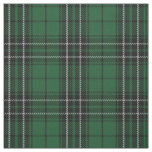 Clan MacLean Hunting Green Black Scottish Tartan Fabric