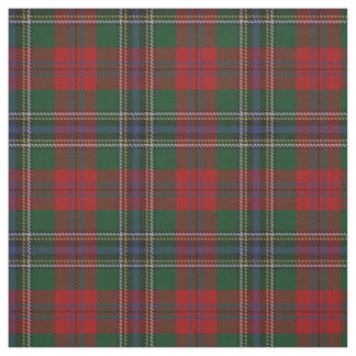 Clan MacLean Scottish Tartan Plaid Fabric