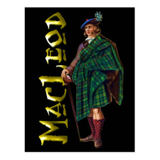 Clan MacLeod Highland Dream Postcard