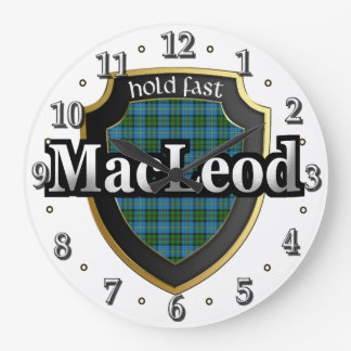 Clan MacLeod of Harris Tartan Scottish Dream Clock