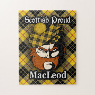 Clan MacLeod of Lewis Scottish Proud Tartan Jigsaw Puzzle