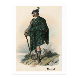 Clan MacLeod Postcard