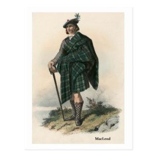 Clan MacLeod Postcard
