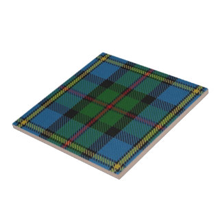 Clan MacLeod Scottish Expressions Tartan Tile