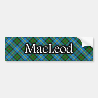 Clan MacLeod Tartan Bumper Sticker