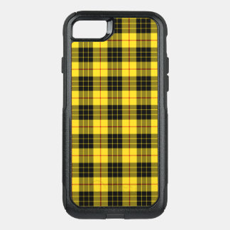 Clan MacLeod Tartan Yellow and Black Plaid OtterBox Commuter iPhone 8/7 Case