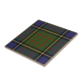 Clan MacMillan Scottish Expressions Hunting Tartan Tile