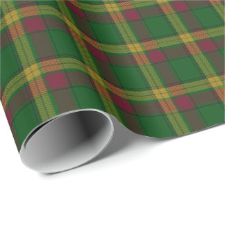 Clan MacMillan Scottish Tartan Wrapping Paper