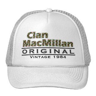 Clan MacMillan Vintage Customize Your Birthyear Cap
