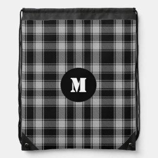 Clan MacPhee Tartan Plaid Monogram Backpack