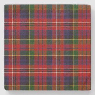 Clan MacPherson Tartan Plaid Stone Coaster