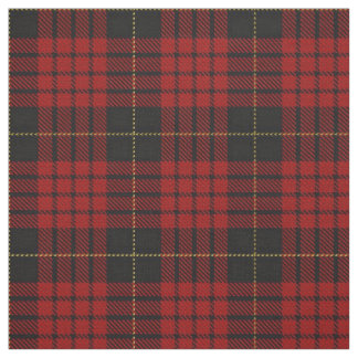 Clan MacQueen Scottish Tartan Plaid Fabric