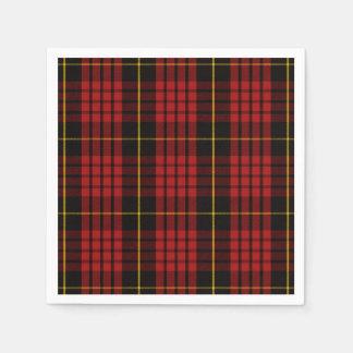 Clan MacQueen Tartan Disposable Napkin