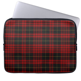 Clan MacQueen Tartan Plaid Laptop Cover
