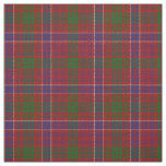 Clan MacRae Red Scottish Tartan Plaid Fabric