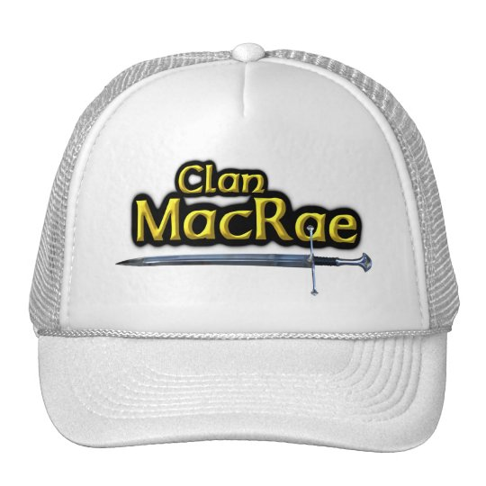 Clan MacRae Scottish Inspiration Cap