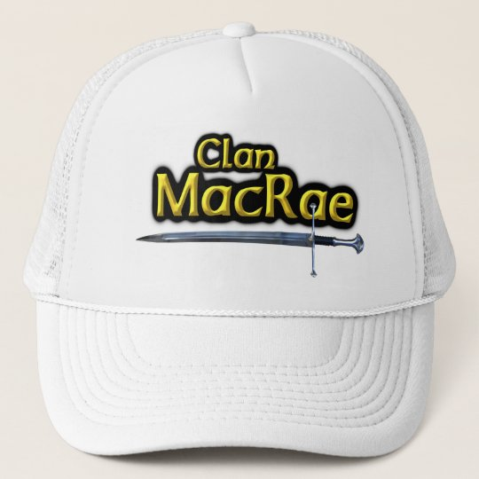 Clan MacRae Scottish Inspiration Trucker Hat