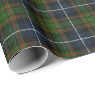 Clan MacRae Scottish Tartan Wrapping Paper