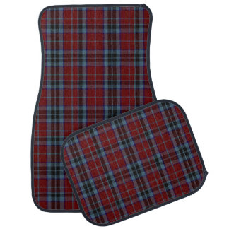Clan MacTavish Plaid Car Mat Set