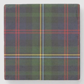 Clan Malcolm Tartan Plaid Stone Coaster