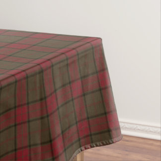 Clan Maxwell Weathered Hunting Tartan Tablecloth