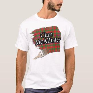 Clan McAllister Scottish Tartan Paint Shirt