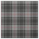Clan Moffat Grey Black Red Scottish Tartan Plaid Fabric
