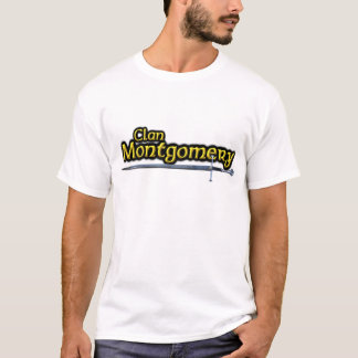 Clan Montgomery Inspired Scottish T-Shirt