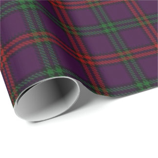 Clan Montgomery Scottish Tartan Wrapping Paper