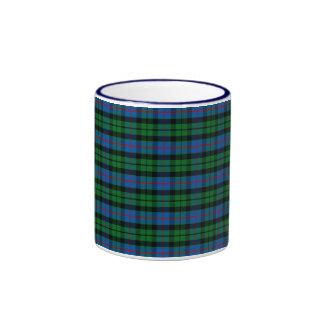 Clan Morrison Tartan Ringer Mug