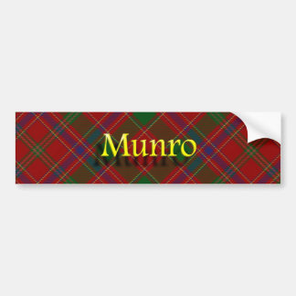 Clan Munro Scottish Bumper Sticker