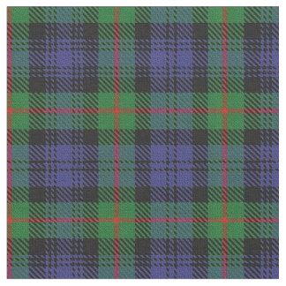 Clan Murray Scottish Tartan Plaid Fabric