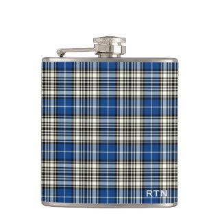 Clan Napier Tartan Monogram Hip Flask
