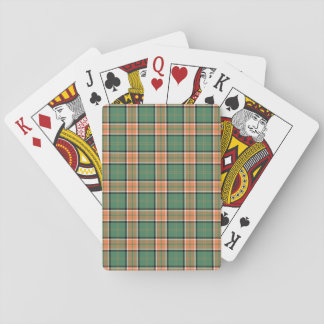 Clan Pollock Tartan Poker Cards
