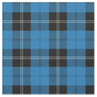 Clan Ramsay Blue Hunting Tartan Fabric