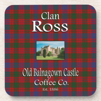 Clan Ross Old Balnagown Castle Coffee Co. Coaster