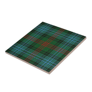 Clan Ross Scottish Expressions Tartan Small Square Tile