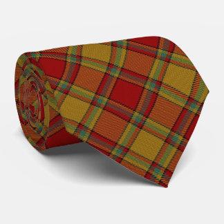 Clan Scrymgeour Letter S Monogram Tartan Tie