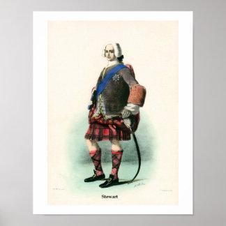 Clan Stewart Poster
