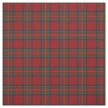 Clan Stewart Royal Red Scottish Tartan Fabric