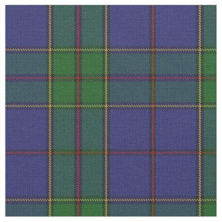 Clan Strachan Blue Red Green Scottish Tartan Fabric