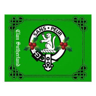 Clan Sutherland Holiday Invites