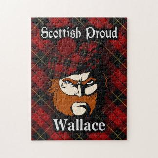 Clan Wallace Scottish Proud Tartan Jigsaw Puzzle