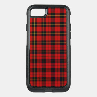 Clan Wallace Tartan Red and Black Plaid OtterBox Commuter iPhone 8/7 Case