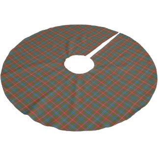 Clan Wilson Tartan Brushed Polyester Tree Skirt